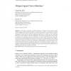 Oblique Support Vector Machines