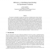 Oblivious vs. Distribution-Based Sorting: An Experimental Evaluation