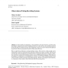 Observation of String-Rewriting Systems
