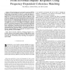 Obtaining Binaural Room Impulse Responses From B-Format Impulse Responses Using Frequency-Dependent Coherence Matching