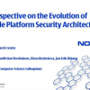 Old, new, borrowed, blue --: a perspective on the evolution of mobile platform security architectures