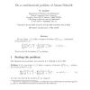 On a Combinatorial Problem of Asmus Schmidt