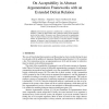 On Acceptability in Abstract Argumentation Frameworks with an Extended Defeat Relation