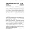 On an Optimization Problem in Sensor Selection*