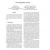 On Analog Signature Analysis