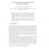 On Competitiveness in Uniform Utility Allocation Markets