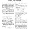 On Complete Sublattices of the Algebra of Truth Values of Type-2 Fuzzy Sets