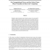 On Computational Power and the Order-Chaos Phase Transition in Reservoir Computing