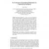 On Contemporary Denotational Mathematics for Computational Intelligence