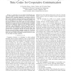 On Four-group ML Decodable Distributed Space Time Codes for Cooperative Communication