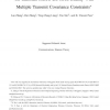 On Gaussian MIMO BC-MAC Duality With Multiple Transmit Covariance Constraints