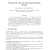 On Growth Rates of Closed Permutation Classes