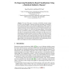 On Improving Dissimilarity-Based Classifications Using a Statistical Similarity Measure