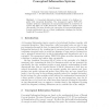 On-Line Analytical Processing with Conceptual Information Systems