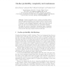 On-Line Probability, Complexity and Randomness