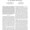 On Mechanism Design without Payments for Throughput Maximization