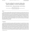 On noise masking for automatic missing data speech recognition: A survey and discussion