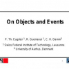On Objects and Events