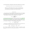 On polynomial integrals over the orthogonal group