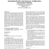 On preparing students for distributed software development with a synchronous, collaborative development platform