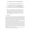 On simultaneous planar graph embeddings