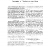 On the analysis of average time complexity of estimation of distribution algorithms