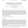 On the application of cross correlation function to subsample discrete time delay estimation