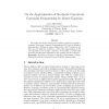 On the Approximation of Stochastic Concurrent Constraint Programming by Master Equation