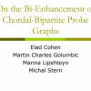 On the Bi-enhancement of Chordal-bipartite Probe Graphs