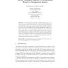 On the Combined Behavior of Autonomous Resource Management Agents