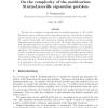 On the complexity of the multivariate Sturm-Liouville eigenvalue problem