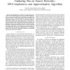 On the Construction of a Maximum-Lifetime Data Gathering Tree in Sensor Networks: NP-Completeness and Approximation Algorithm