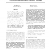On the Convergence Properties of Contrastive Divergence