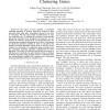 On the Effectiveness of Constraints Sets in Clustering Genes