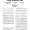 On the Effectiveness of Sensor-enhanced Keystroke Dynamics Against Statistical Attacks