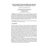 On the Feasibility of Integrated MPEG Teleconference and Data Transmission, over IEEE 802.11 WLANs