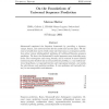 On the Foundations of Universal Sequence Prediction