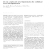 On the Length and Area Regularization for Multiphase Level Set Segmentation