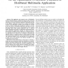 On the Optimization of Resource Utilization in Distributed Multimedia Applications