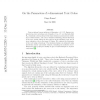 On the parameters of r-dimensional toric codes