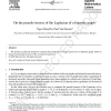 On the pseudo-inverse of the Laplacian of a bipartite graph