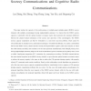 On the relationship between the multi-antenna secrecy communications and cognitive radio communications