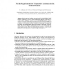 On the Requirements for Cooperative Assistance in the Medical Domain
