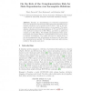 On the Role of the Complementation Rule for Data Dependencies over Incomplete Relations