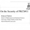 On the Security of PKCS#11