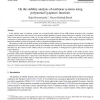On the stability analysis of nonlinear systems using polynomial Lyapunov functions