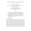 On the weight of universal insertion grammars