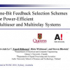 One-Bit Feedback Selection Schemes for Power-Efficient Multiuser and Multirelay Systems