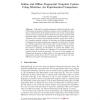 Online and Offline Fingerprint Template Update Using Minutiae: An Experimental Comparison