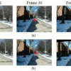 Online Video Stabilization Based on Particle Filters